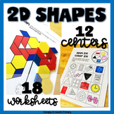 2D Shapes Worksheets and Geometry Centers