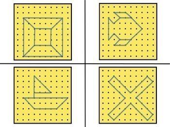 Geometry Centers - 2D Shapes BUNDLE