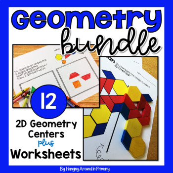 2D Shapes Centers and Problem Solving Activities