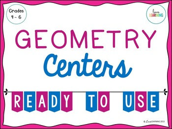 Geometry Centers {4th-6th Grade}