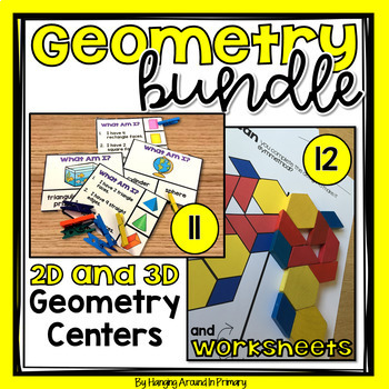 Geometry Centers for 2D Shapes and 3D Shapes