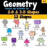 Geometry Centers and Activities K-1