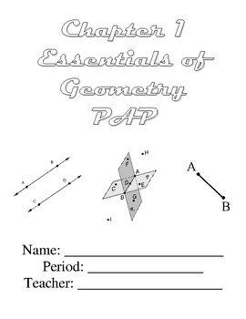 Geometry Ch. 1 Packet