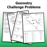 16 Geometry Challenge Problems