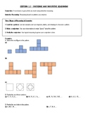 Geometry Chapter 1 Notes - Geometry Basics