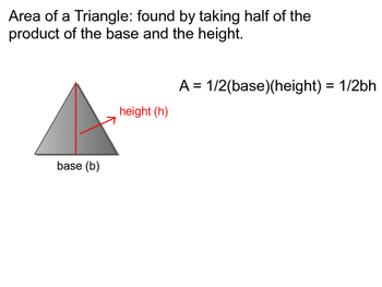 Geometry Chapter 11 - Areas of Polygons and Circles