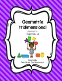 Geometry Chapter 11 (Spanish Practice Worksheets)