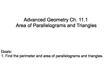 Geometry Chapter 12 - Extending Surface Area and Volumes