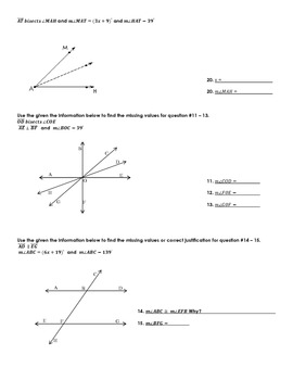 Geometry Chapter 2 (Logic) - Quizzes