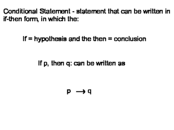 Geometry Chapter 2 - Reasoning and Proof
