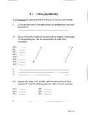 Geometry Chapter 5 Bundle: Quadrilaterals