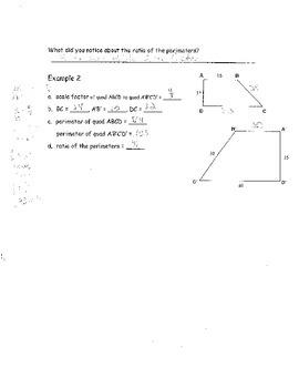 Geometry Chapter 7 Bundle: Similar Polygons