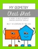 Geometry Cheat Sheet {freebie!!}