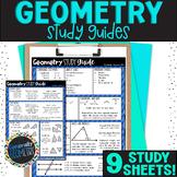 Geometry Study Guide | Final Exam | Resource Tool