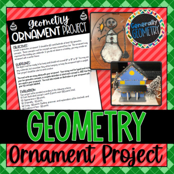 Geometry Christmas Ornament Project
