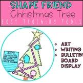Geometry Christmas Tree Craft for Christmas