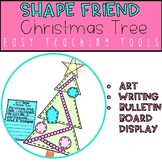 Geometry Christmas Tree Craft for Christmas