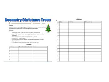 Geometry Christmas Tree Project