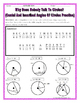 Circles - Geometry Circles Central & Inscribed Angles Riddle Practice Worksheet