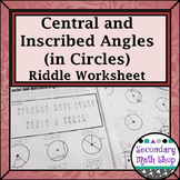 Circles - Geometry Circles Central & Inscribed Angles Ridd