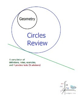 Geometry Circles Review