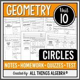 Circles (Geometry Curriculum - Unit 10)