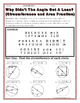 Circles - Geometry Circumference and Area of Circles Riddle Worksheet