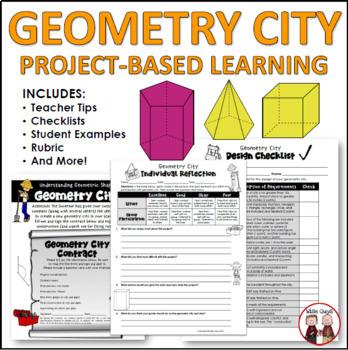 Math Geometry City Project