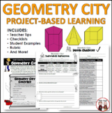 Math Geometry City Project!