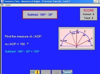 Geometry Class software