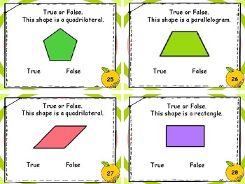 Geometry - Classify Polygons Task Cards