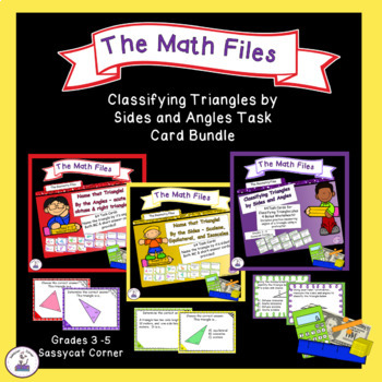Geometry - Classify Triangles by Angles and Sides Task Car