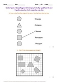 Geometry:  Classifying Geometric Shapes