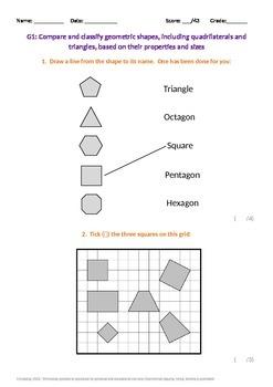 Geometry:  Classifying Geometric Shapes