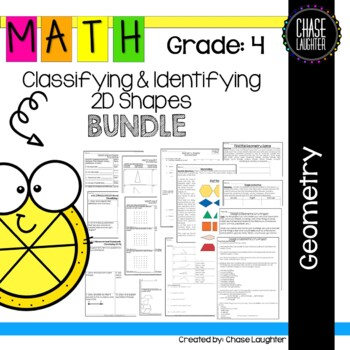 Geometry: Classifying & Identifying 2D Shapes 4.G.2