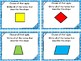 Geometry - Classifying Quadrilaterals Task Cards