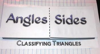 Geometry Classifying Triangles by Angles Sides Foldable G-CO.10, 13,