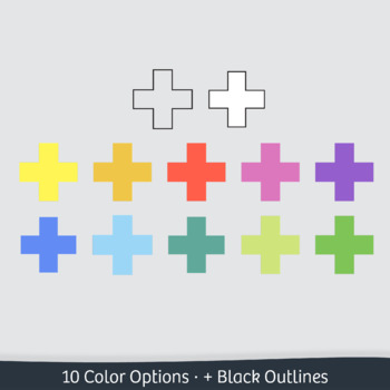 Geometry Clip Art: 21 Basic 2D Shapes – Commercial