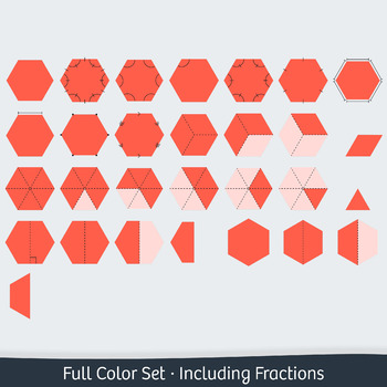 Geometry Clip Art: 4 Polygons – Commercial