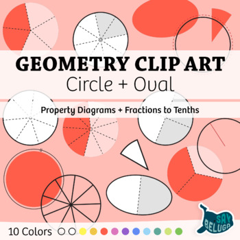 Geometry Clip Art: Circle + Oval – Commercial