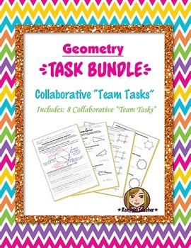 "Geometry Collaborative ""Team Task"" {{Bundle}}"