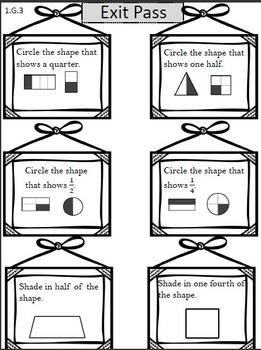 Geometry Common Core 1.G.1, 1.G.2, 1.G.3