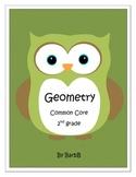 Geometry Common Core 2nd Grade