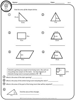 Geometry - Common Core Math Targeted Assessments