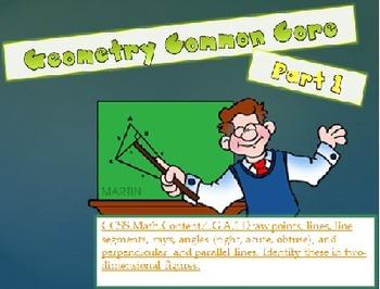 Geometry Common Core Part 1