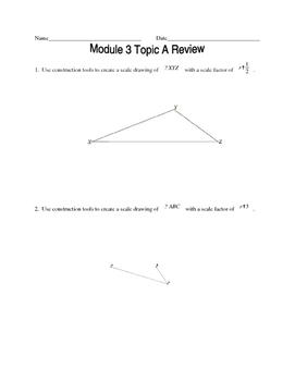 NYS Geometry Common Core Regents Review Material