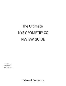 Geometry Common Core Regents Survival Book