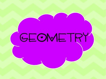 Geometry Common Core Standards