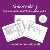 Geometry - Complete Curriculum Map (Common Core Aligned)