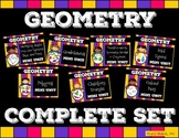 Geometry Complete Set : Polygons, Solids, Ordered Pairs, Lines, and More! Bundle